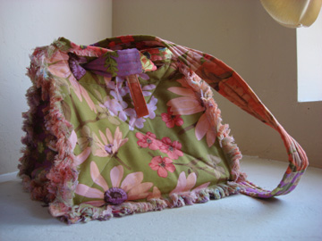 Rag Purse Aug 08