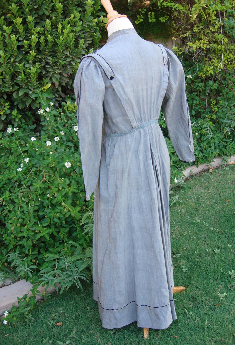 Grandma Stout dress back