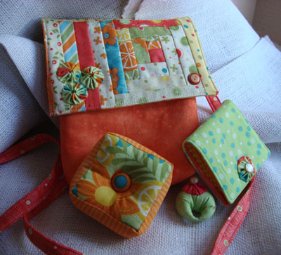 Quilty group gift exchange