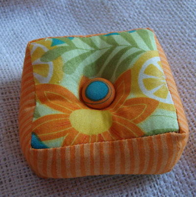 Quilty group pin cushion