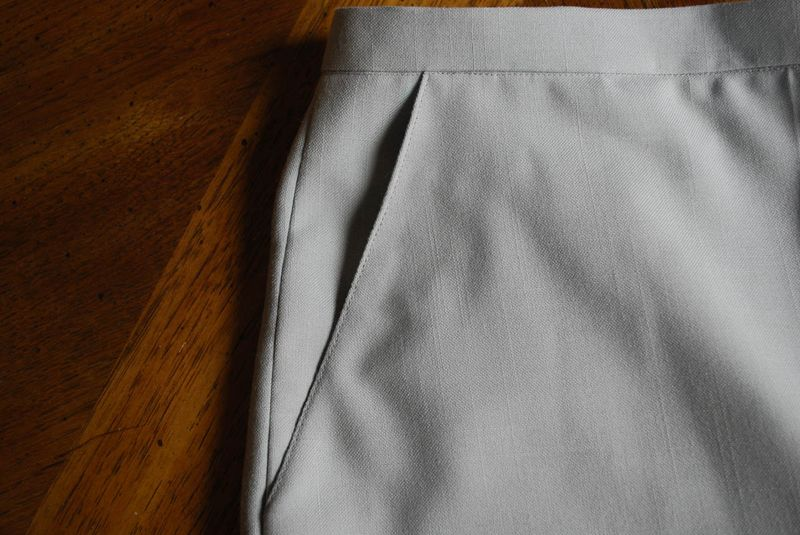 Pants pocket detail