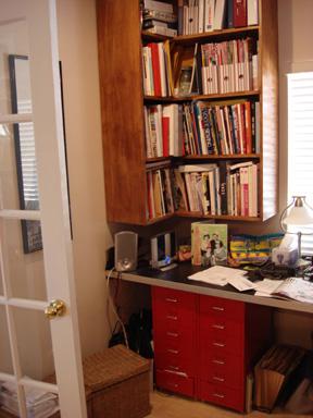 Studio book case